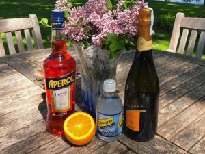 how to make aperol spritz