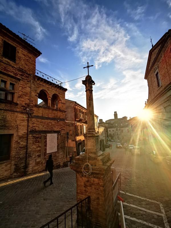 Italian small town