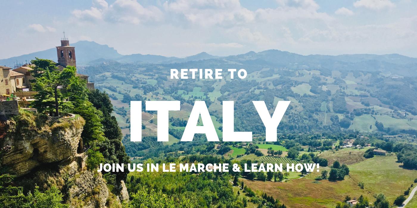 retire to italy
