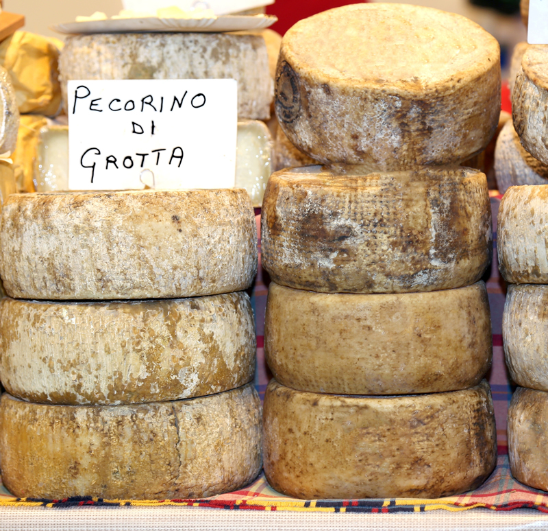sustainable living italy - fresh cheese
