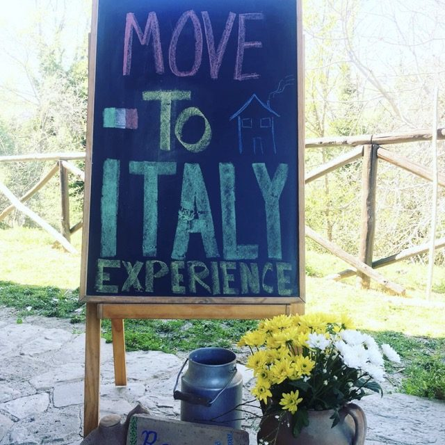 move to italy experience