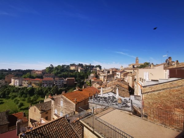 Italian rooftop renovation views